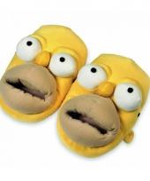 Homer simpsons gezicht sloffen trend