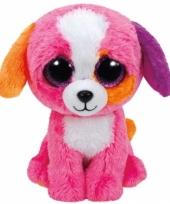 Hond puppy ty beanie knuffel precious 24 cm trend