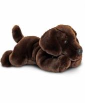 Honden knuffel labrador puppy bruin 30 cm trend