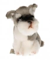 Hondenknuffel schnauzer 13 cm trend