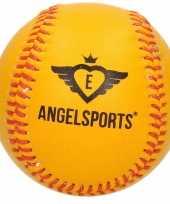 Honkbal softbal angel sports oranje geel 10 cm trend