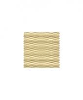 Horeca servetten driehoekjes goud wit trend