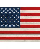 Horizontale vlag poster usa 84 cm trend