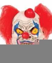 Horror clown masker met hoedje trend