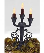 Horror kaarsen standaard met verlichting 30 cm trend