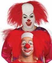 Horror killer clownspruik voor volwassenen trend