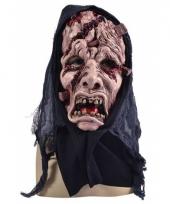 Horror masker gezicht met wonden trend