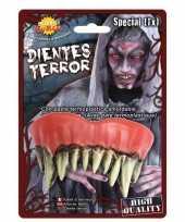 Horror monster gebit neptanden halloween accessoire trend 10162763