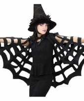 Horror spinnenweb cape trend
