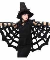 Horror spinnenweb cape trend