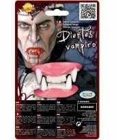 Horror vampier gebit neptanden halloween accessoire trend 10162759