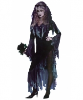 Horror zombie bruid verkleed jurk trend