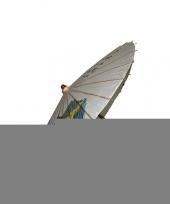 Houten decoratie paraplu 85 cm trend