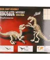 Houten dilophosaurus dinosaurus trend
