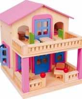 Houten huis clara voor poppen trend