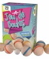 Houten jeu de boules speelgoed trend