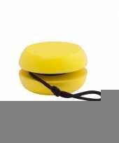 Houten jojo geel trend