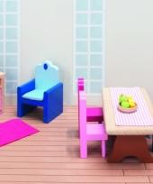 Houten speelgoed meubels woonkamer trend