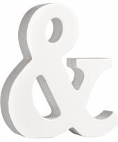 Houten teken 11 cm trend