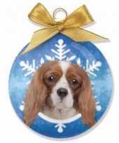 Huisdieren kerstballen honden cavalier trend