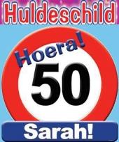 Huldeschilden sarah 50 jaar trend