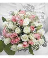 Huwelijk servetten 3 laags 40 stuks trend
