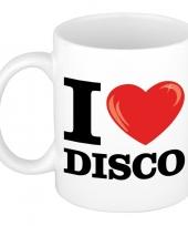 I love disco beker mok 300 ml trend