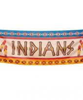 Indianen vlaggen 74 x 220 cm trend