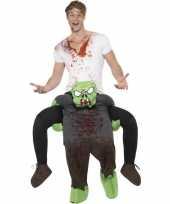 Instapkostuum zombie voor volwassenen trend