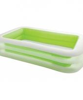 Intex zwembad groen 262 cm trend