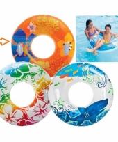 Intex zwemband oranje 97 cm trend