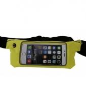 Iphone 6 heuptasje geel trend