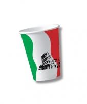 Italiaanse wegwerpbekers 10 st trend