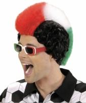 Italie supporters pruik heren trend