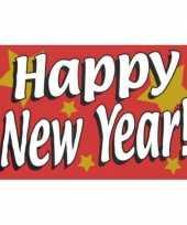 Jaarwisselings vlaggen happy new year trend