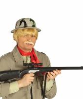 Jager speelgoed geweer met kijker 68 cm trend