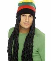 Jamaica muts met dreadlocks trend