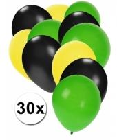 Jamaicaanse feest ballonnen 30 st trend