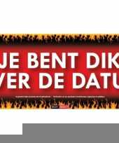 Je bent dik over de datum sticky devil sticker trend