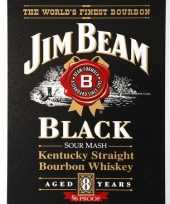 Jim beam bourbon muurplaat trend