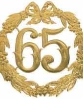 Jubileum cijfer 65 jaar trend