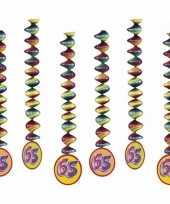 Jubileum spiralen 65 jaar 6 stuks trend