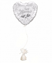Just married ballon met ballon gewicht trend