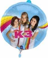 K3 heliumballonnen 45 cm trend
