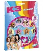 K3 meiden stickers 35 stuks trend