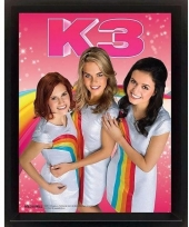 K3 poster 3d 23 x 28 x 5 cm trend