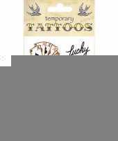 Kaarten plak tattoos trend