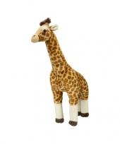 Kado knuffel giraffe groot 63 cm trend