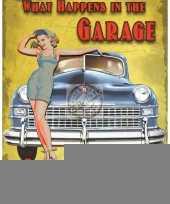 Kado voor mannen de garage trend 10040238