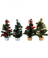 Kantoor kerstboom zilver trend